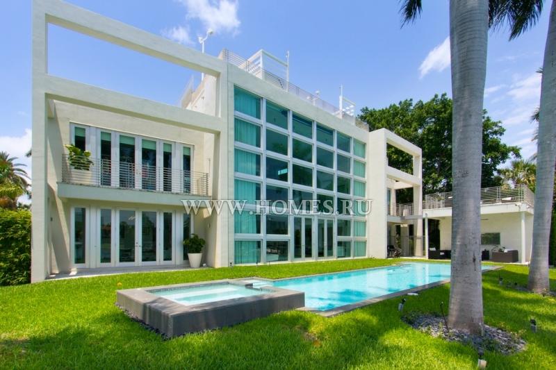 Эксклюзивная вилла в Майами-Бич