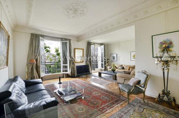 Изысканные апартаменты в Париже