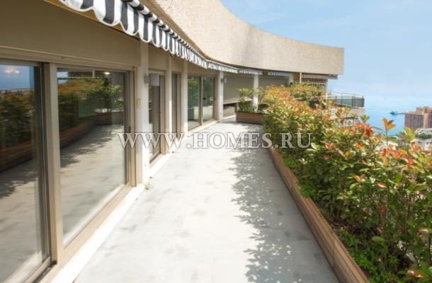 Потрясающий двухэтажный пентхаус в Монако