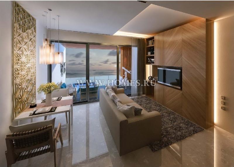 Потрясающий апартамент на первой линии пляжа