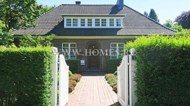 Очаровательный дом в Гамбурге