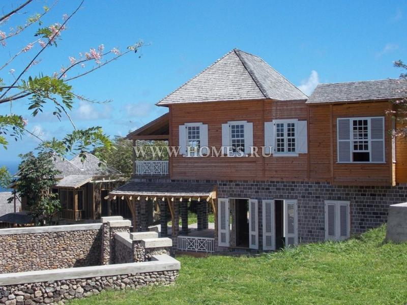 Потрясающая вилла на острове Сент-Китс