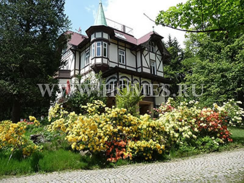 Симпатичный особняк в Саксонии