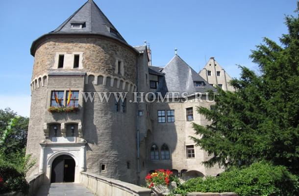 Средневековый замок в Дрездене
