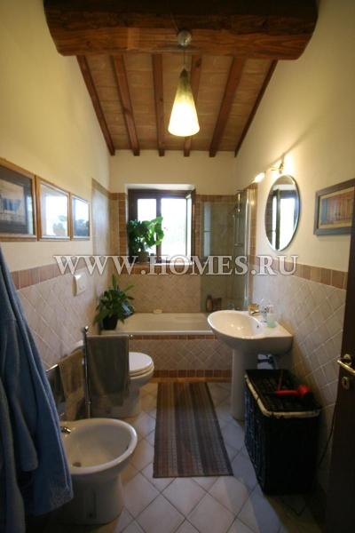Симпатичные апартаменты в Тоскане