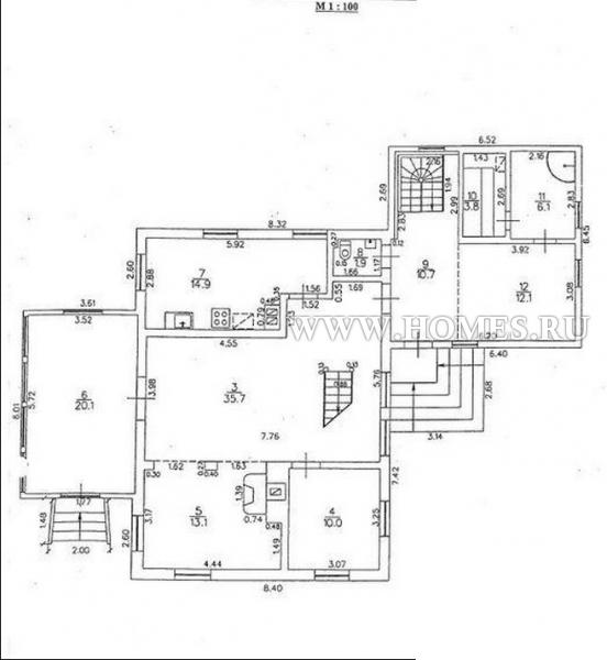 Замечательный дом в Юрмале