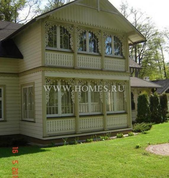 Чудесный дом в Юрмале