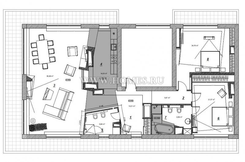 Уникальная квартира в Юрмале, Булдури