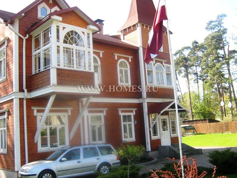 Великолепный дом в самом центре Юрмалы