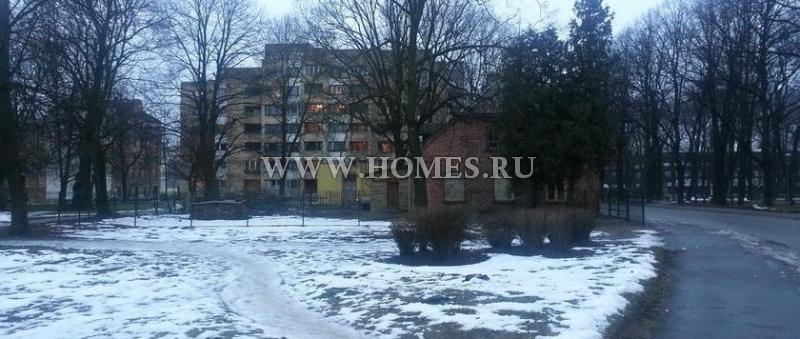 Просторный земельный участок в центре Риги
