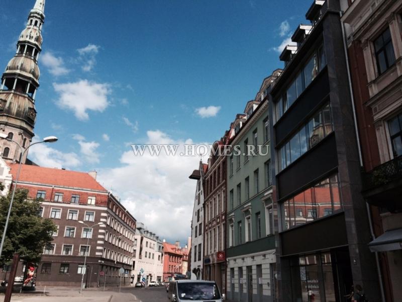 Светлая квартира в центре Риги