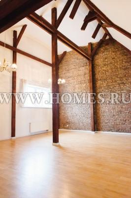 Светлая квартира в тихом центре Риги
