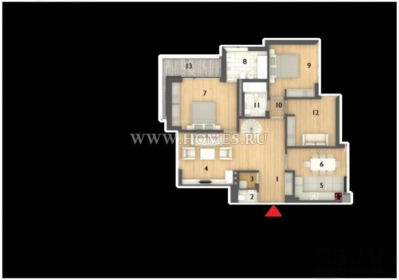 Современная квартира в Юрмале, Майори