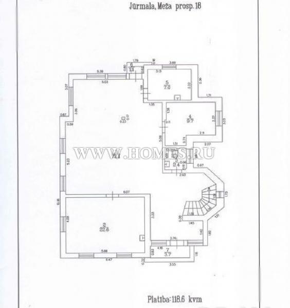 Великолепный дом в Булдури, Юрмала