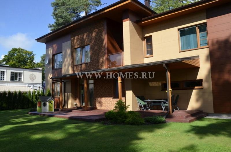 Новый дом в Юрмале, Булдури
