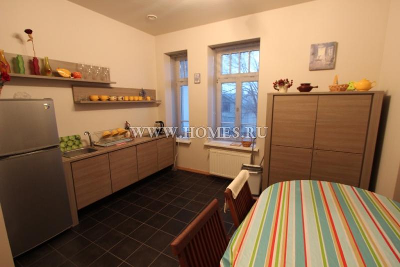 Красивые апартаменты в Юрмале, Майори
