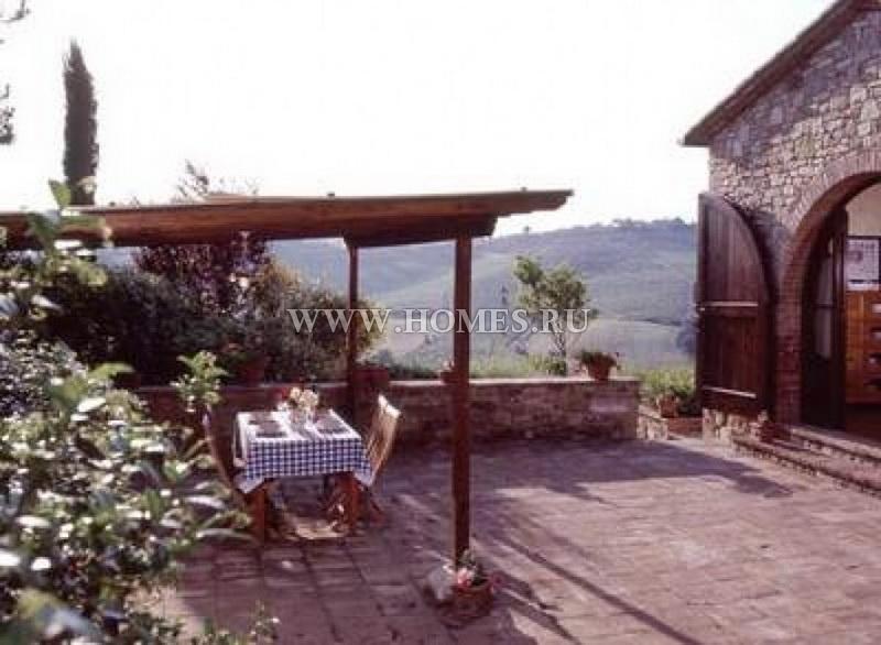 Старинный особняк в Тоскане