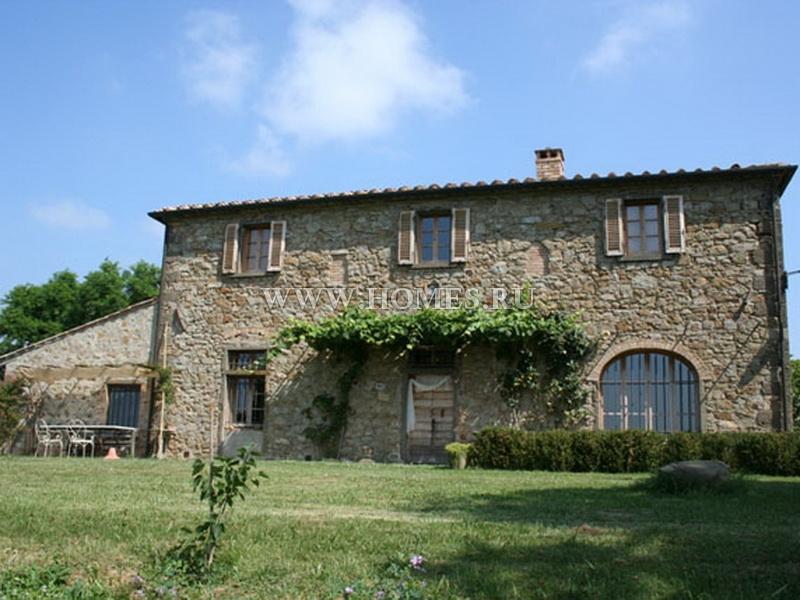 Прекрасный виноградник в Тоскане