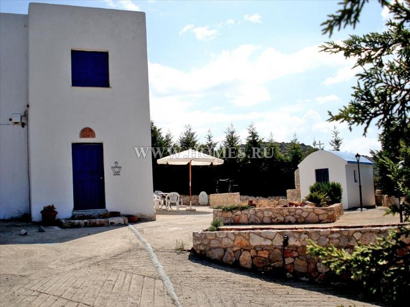 Светлый коттедж в Центральной Греции