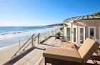 Красивая вилла на побережье в Малибу, Калифорния