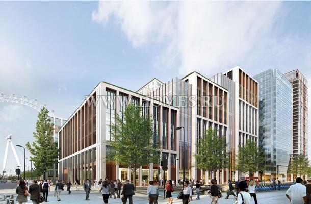 Современный жилой комплекс в Лондоне