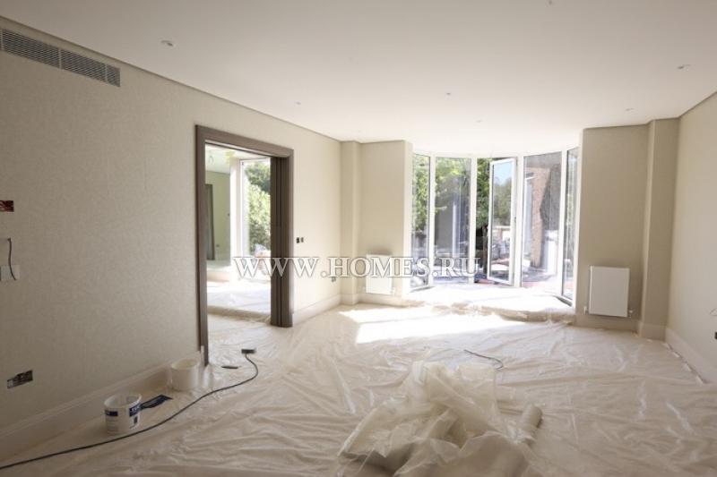 Дом на стадии строительства в фешенебельном районе Лондона