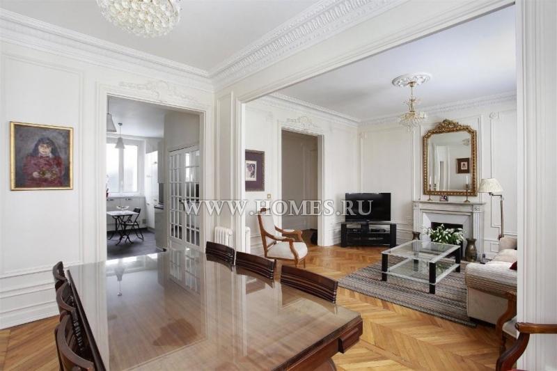 Шикарные апартаменты в Париже