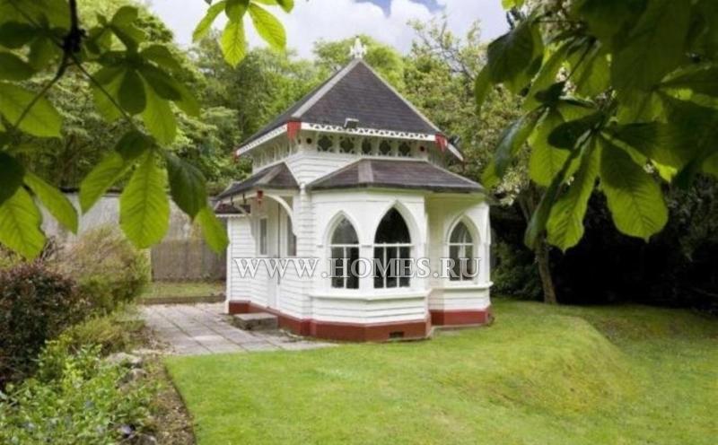 Необычный дом неподалёку от города Линлитгоу