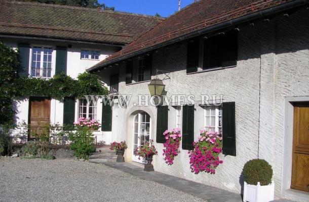 Очаровательный дом рядом с Лозанной