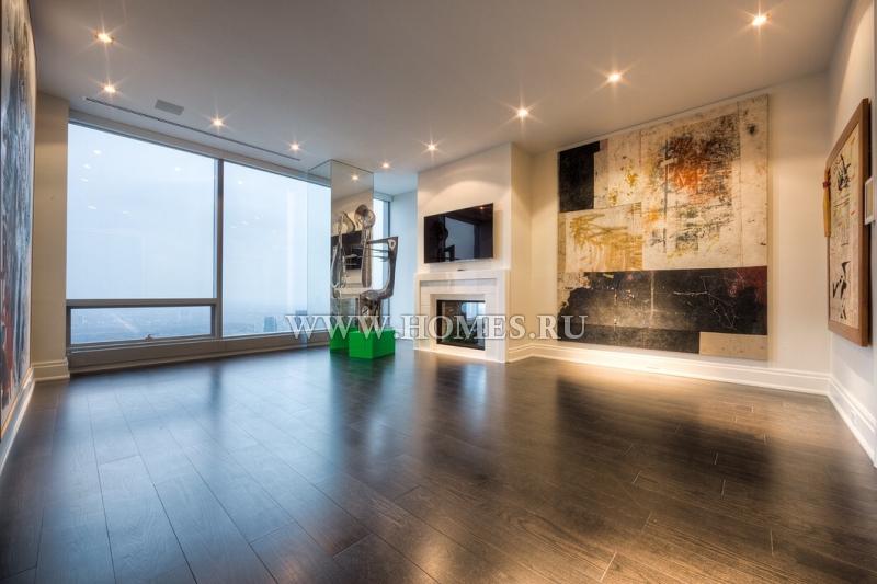 Апартаменты в ультрасовременном стиле в Торонто