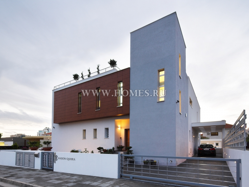 Уникальный дом в прибрежной зоне города Лимассол
