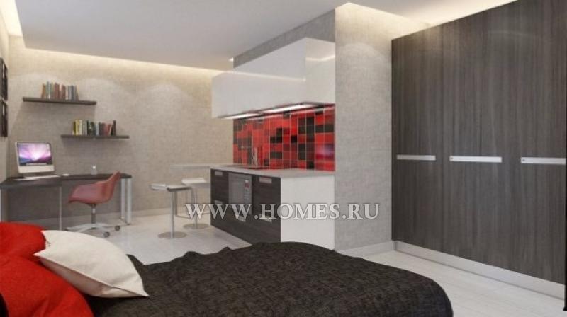 Комфортабельные современно меблированные квартиры-студии