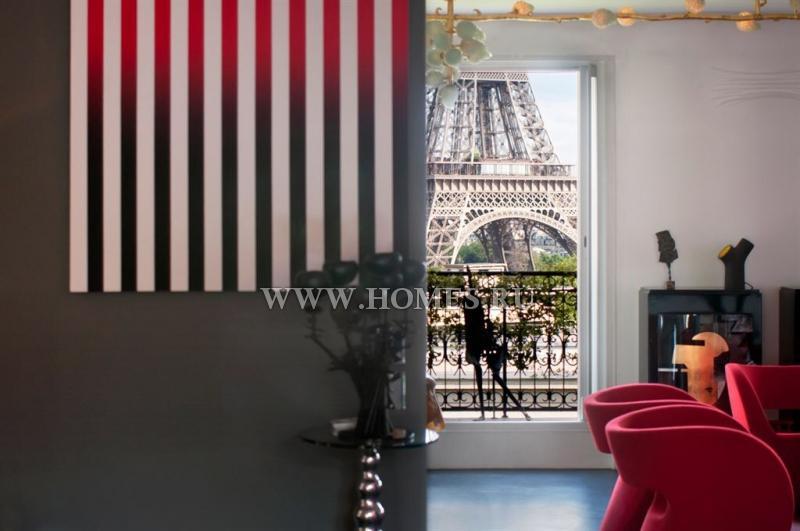 Исключительный пентхаус с видом на Эйфелеву башню
