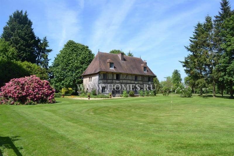 Старинный особняк в регионе Нормандия