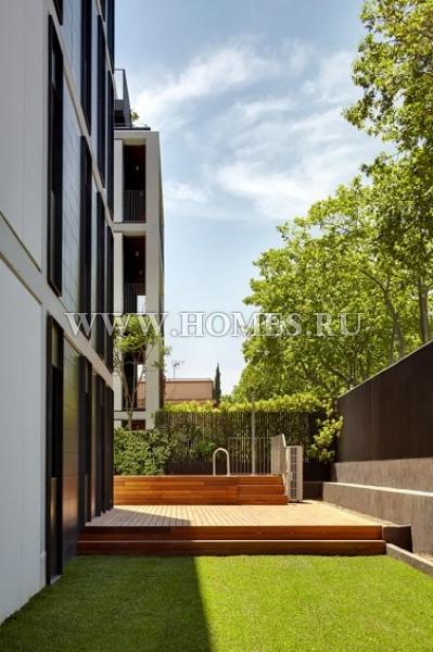 Дизайнерский дуплекс в Барселоне