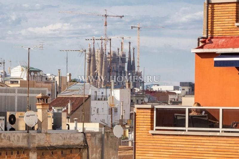 Эксклюзивный пентхаус в центре Барселоны