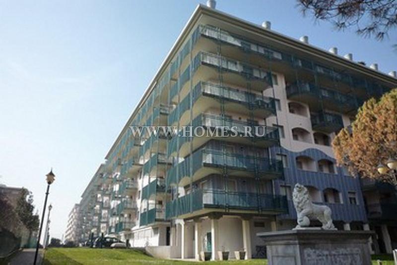 Милые апартаменты в Бибионе