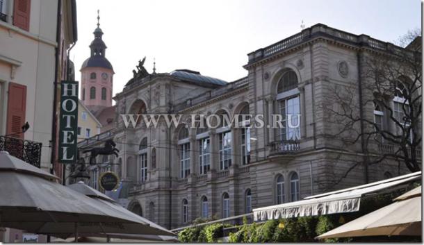 Роскошный отель в Баварии