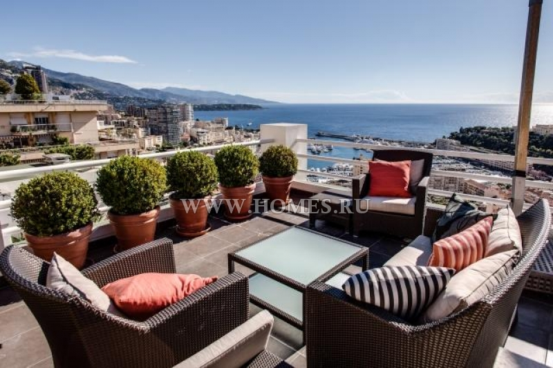 Роскошный пентхаус в Монако